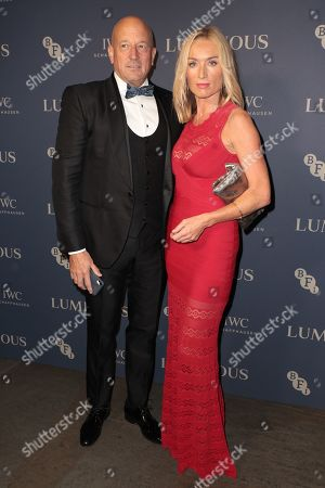 Victoria Smurfit and guest