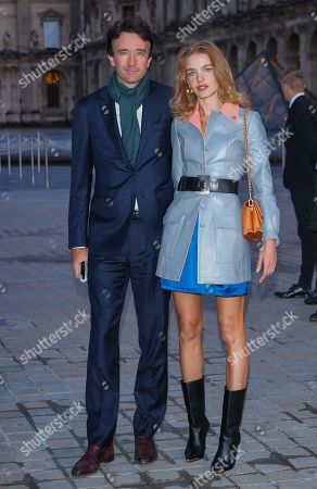 Antoine Arnault and Natalia Vodianova in the front row