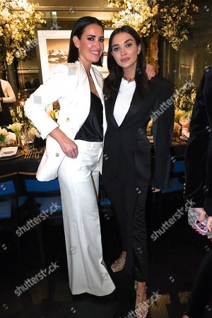 Kirsty Gallacher and Amy Jackson