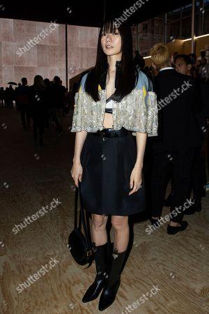 Editorial picture of Fashion S/S 2020 Louis Vuitton, Paris, France - 01 Oct 2019