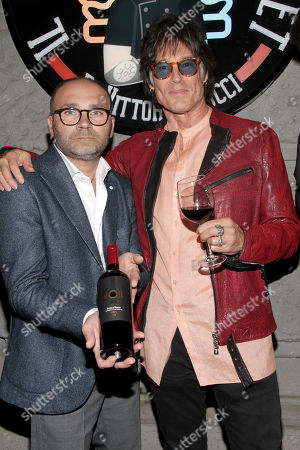 Donato Pistola and Ronn Moss