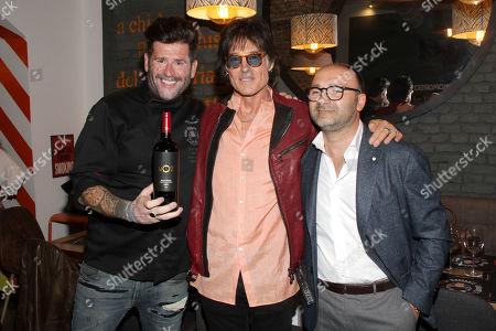 Vittorio Gucci, Ronn Moss and Donato Pistola