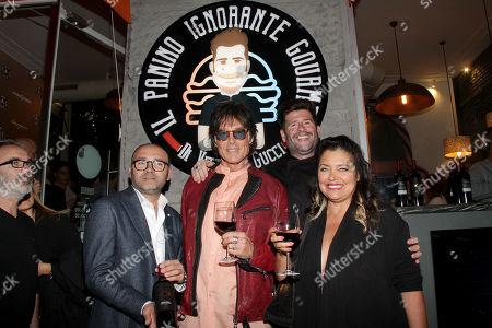 Donato Pistola, Ronn Moss, Vittorio Gucci and Devin DeVasquez