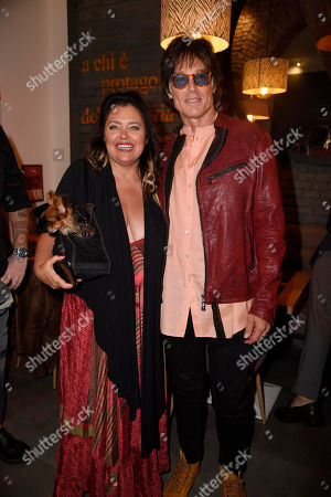 Stock Photo of Devin DeVasquez and Ronn Moss