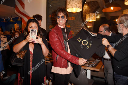 Stock Image of Devin DeVasquez and Ronn Moss