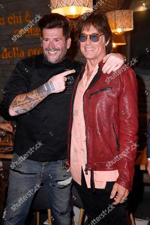 Vittorio Gucci and Ronn Moss