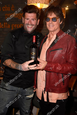 Stock Photo of Vittorio Gucci and Ronn Moss