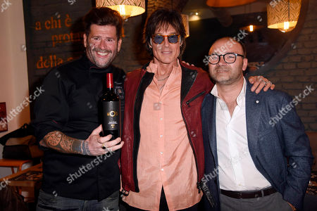 Vittorio Gucci, Ronn Moss and guest