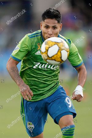 Editorial photo of MLS Sounders Earthquakes Soccer, San Jose, USA - 29 Sep 2019