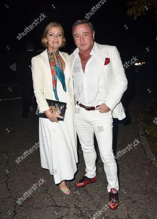 Michael Flatley and Niamh Flatley