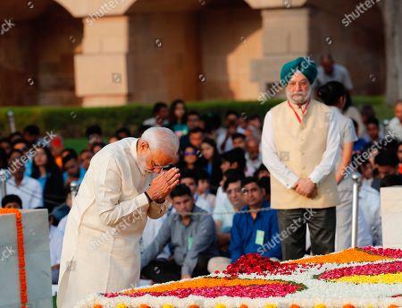 Editorial image of Gandhi Anniversary, New Delhi, India - 02 Oct 2019
