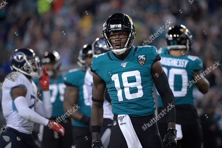 Editorial photo of Titans Jaguars Football, Jacksonville, USA - 19 Sep 2019