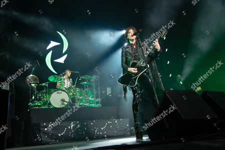 Halestorm - Arejay Hale and Lzzy Hale