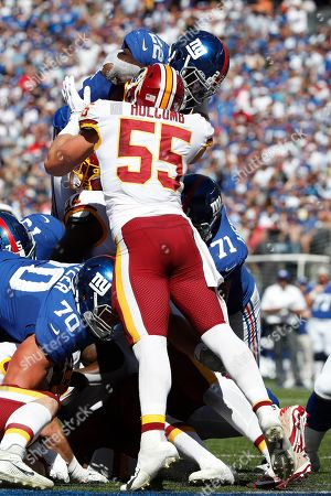 Editorial photo of Redskins Giants Football, East Rutherford, USA - 29 Sep 2019