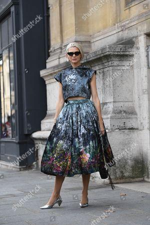 Editorial image of Street Style, Spring Summer 2020, Paris Fashion Week, France - 30 Sep 2019