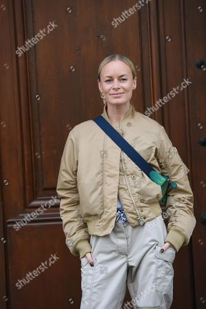 Editorial photo of Street Style, Spring Summer 2020, Paris Fashion Week, France - 30 Sep 2019