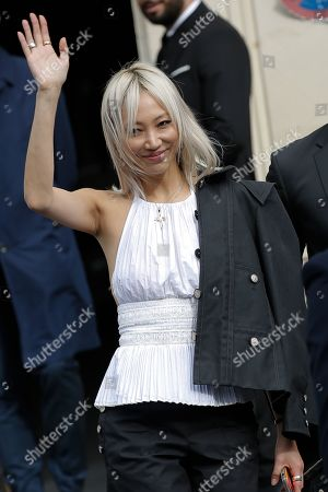 Editorial picture of Chanel show, Arrivals, Spring Summer 2020, Paris Fashion Week, France - 01 Oct 2019