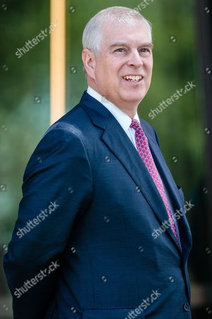 Britain's Prince Andrew, Duke of York arrives at Murdoch University in Perth, Western Australia, Australia, 02 October 2019. According to reports, Prince Andrew is in Australia on a working visit.