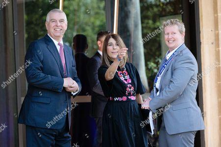 Editorial picture of Britain's Prince Andrew in Australia, Perth - 02 Oct 2019