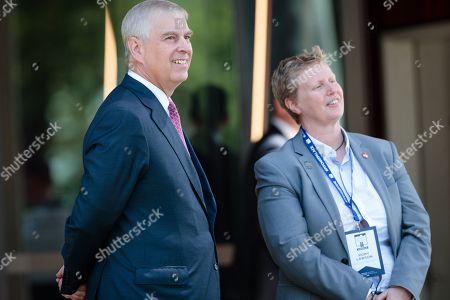 Editorial image of Britain's Prince Andrew in Australia, Perth - 02 Oct 2019