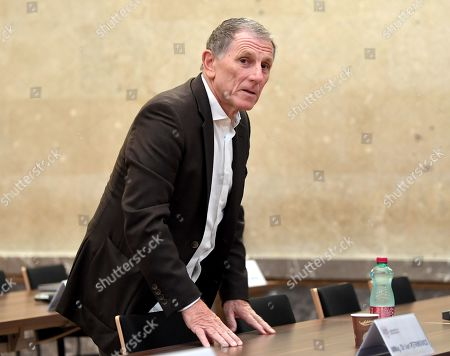 Defendant  Peter Hochegger during another day of trial against former Finance Minister Karl-Heinz Grasser and other defendants at the Vienna District Criminal Court, in Vienna, Austria, 02 October 2019. The trial of Karl-Heinz Grasser and other defendants are facing charges of alleged fraud and corruption in connection with the privatization of the federal housing association 'Buwog'.