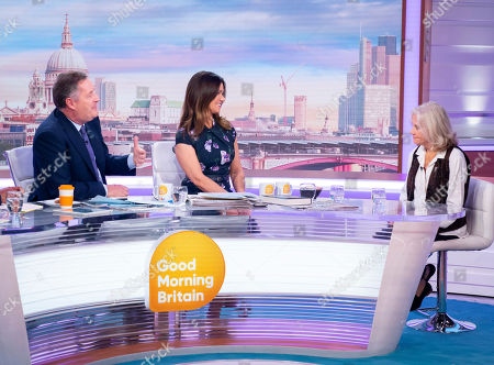 Editorial photo of 'Good Morning Britain' TV show, London, UK - 02 Oct 2019