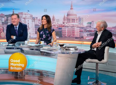 Piers Morgan and Susanna Reid with John Humphrys