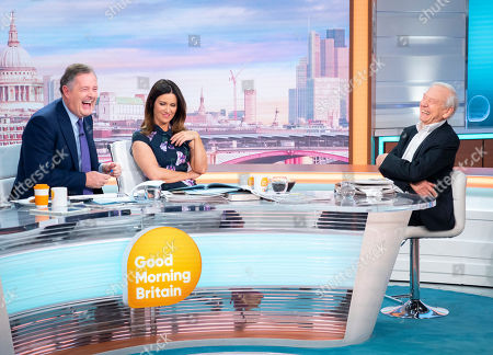 Stock Picture of Piers Morgan and Susanna Reid with John Humphrys