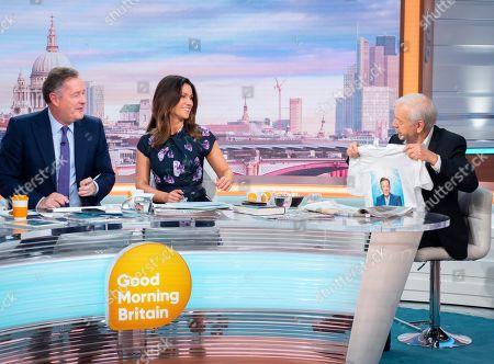 Editorial image of 'Good Morning Britain' TV show, London, UK - 02 Oct 2019