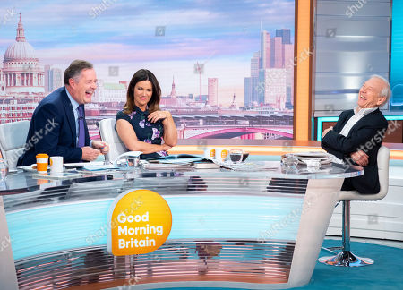 Stock Photo of Piers Morgan and Susanna Reid with John Humphrys