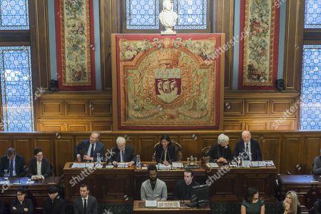 Jean-Jacques Aillagon, Jean Tiberi, Anne Hidalgo, Francoise de Panafieu et Jacques Toubon.