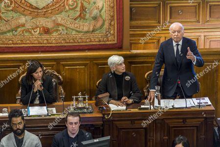 Stock Picture of Anne Hidalgo, Francoise de Panafieu et Jacques Toubon