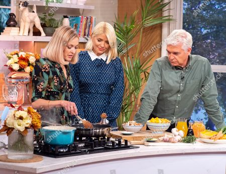 Editorial image of 'This Morning' TV show, London, UK - 02 Oct 2019