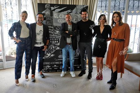 Editorial photo of Presentation of the Spanish film 'The Zero Crack' in Madrid, Spain - 02 Oct 2019