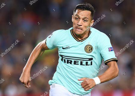 Alexis Sanchez of Inter de Milan
