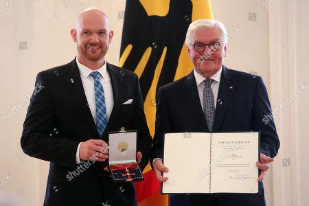Editorial image of German President Steinmeier Awards Orders of Merit, Berlin, Germany - 02 Oct 2019