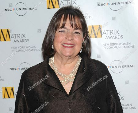 Author and Food Network host Ina Garten attends the 2010 Matrix Awards presented by the New York Women in Communications at the Waldorf-Astoria Hotel in New York. The next book by million-selling chef Garten will be a little more personal. Celadon Books announced, that Garten is working on a memoir, currently untitled and tentatively scheduled for 2022
