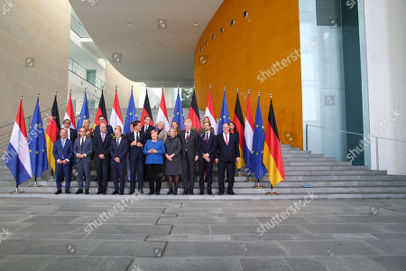 Editorial photo of German-Dutch government consultations in Berlin, Germany - 02 Oct 2019