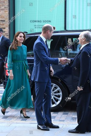 Editorial photo of Prince William and Catherine Duchess of Cambridge visit to the Aga Khan Centre, London, UK - 02 Oct 2019