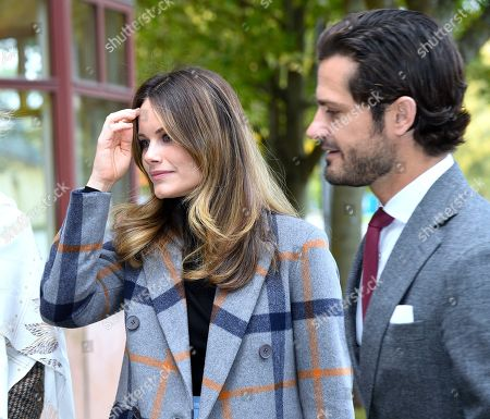Princess Sofia of Sweden and Prince Carl Philip attend a dyslexia conference called 'Learn and Dyslexia'