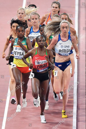 Editorial image of Athletics Worlds, Doha, Qatar - 02 Oct 2019