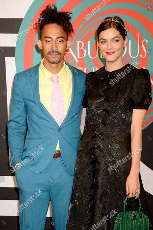 Jordan Stephens and Amber Anderson