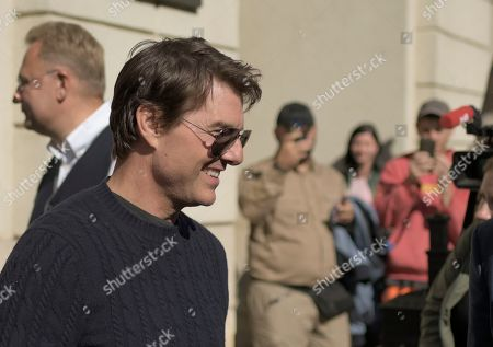 Editorial image of American actor, film director and producer Tom Cruise visits Ukraine., Lviv - 02 Oct 2019