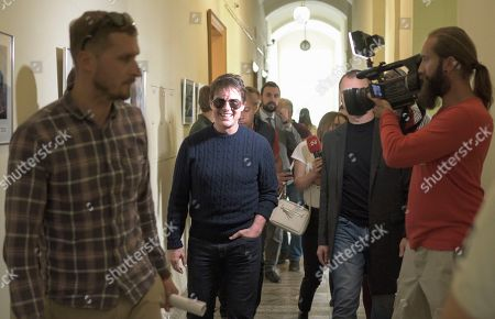 Editorial picture of American actor, film director and producer Tom Cruise visits Ukraine., Lviv - 02 Oct 2019