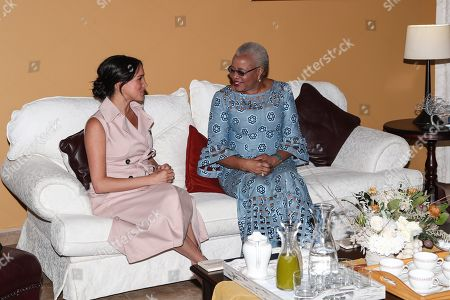 Editorial image of Prince Harry and Meghan Duchess of Sussex visit to Africa - 02 Oct 2019