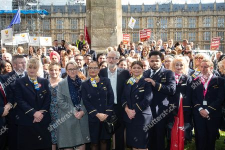 Editorial photo of Thomas Cook protest,  Westminster, London, UK - 02 Oct 2019