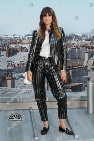 Editorial image of Chanel show, Front Row, Spring Summer 2020, Paris Fashion Week, France - 01 Oct 2019