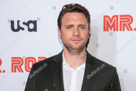 """Stock Image of Martin Wallstrom attends USA Network's """"Mr. Robot"""" season 4 premiere at the Village East Cinema, in New York"""