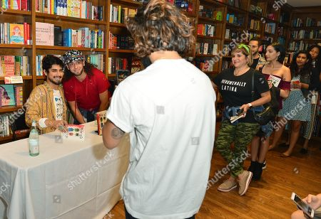 """Actor Avan Jogia read and sign copies of his poetry collection, """"Mixed Feelings: Poems & Stories"""""""