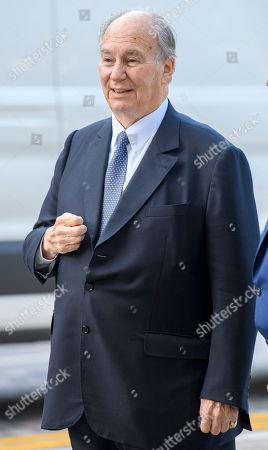 Stock Image of Prince Shah Karim Al Hussaini, Prince Karim Aga Khan